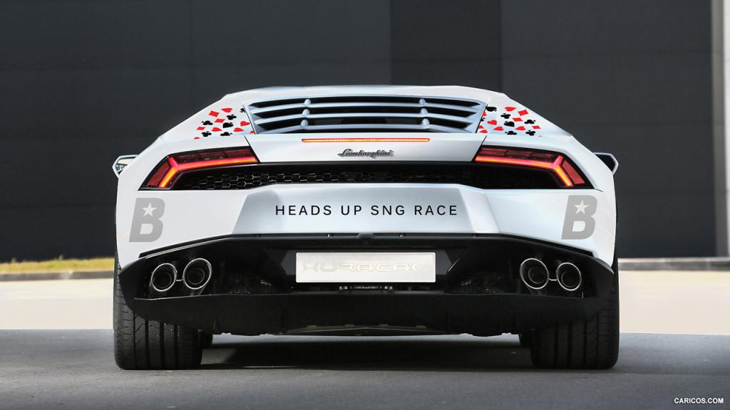 Tallinnas näidatakse superautot Lamborghini Huracan