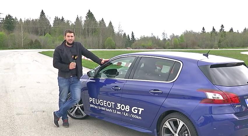 Peugeot' 308 GT on kui hunt lambanahas