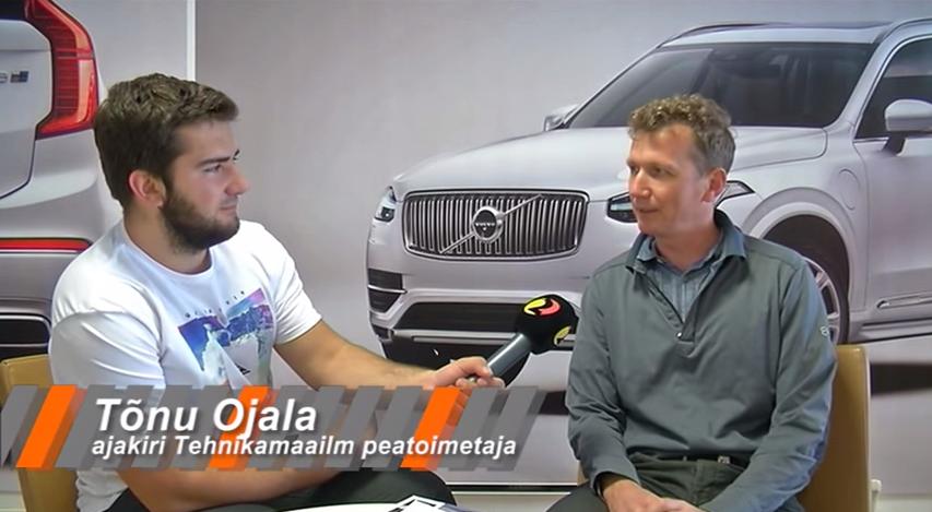 Juunikuu auto on uuenduslik Volvo XC-90
