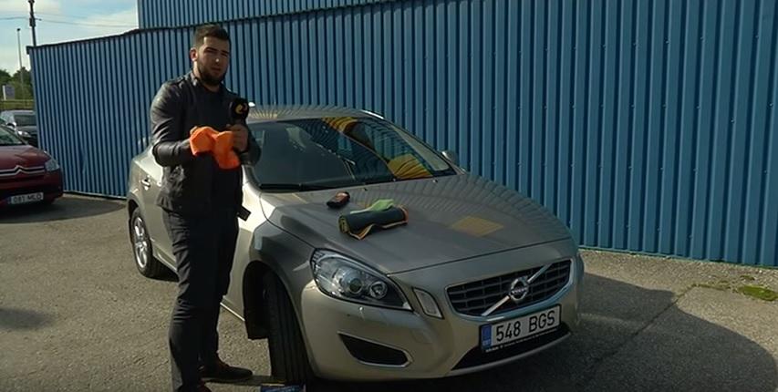 ROOLI VÕIM ALUSTAS TAAS! Kuidas saab auto esiklaasi kojameeste abita puhtana hoida?