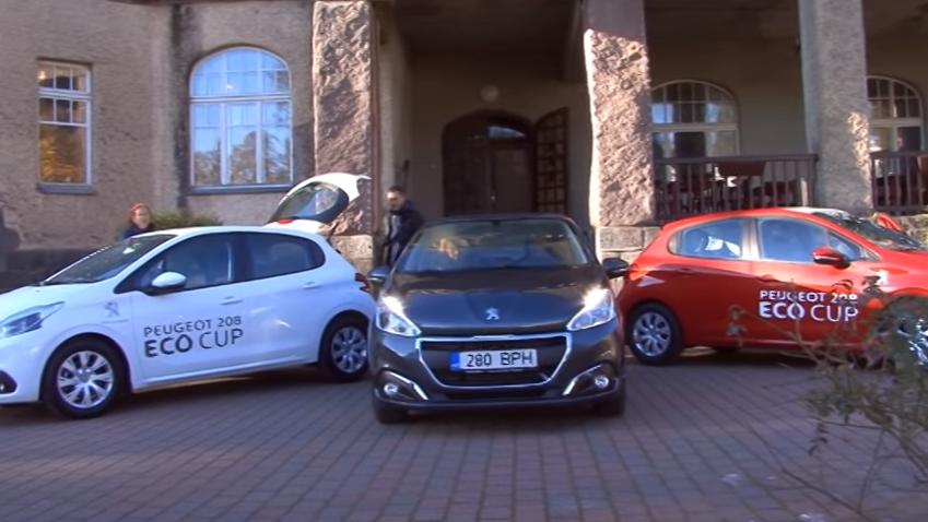 ROOLI VÕIM! Amserv Peugeot tegi kaunil Eestimaal ökonoomsustesti