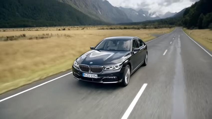 ROOLI VÕIM! BMW 7 seeria uus mudel on kui Bondi auto
