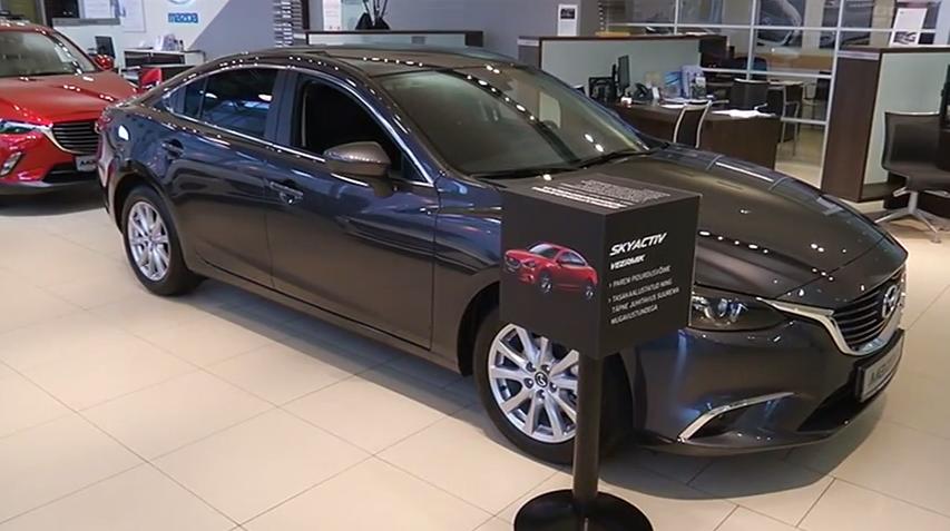 ROOLI VÕIM! Uus Mazda6 jätab hüvasti käsitsi käiguvahetusega