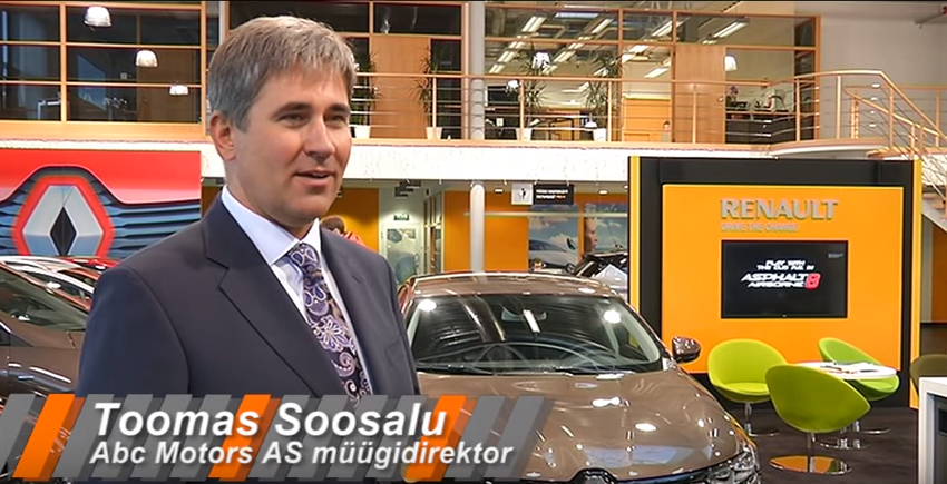 ROOLI VÕIM! Renault lipulaev seilas Abc Motorsisse