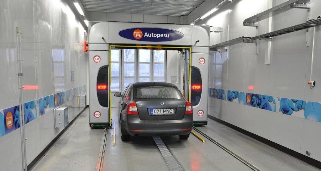 ROOLI VÕIM! Statoili uus automaatpesula peseb ja poleerib kommilõhnaliselt
