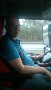 Kaugsõidujuht Urmas Tamm peab oma ametit elustiiliks