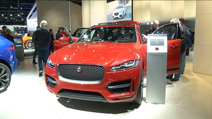 ROOLI VÕIM! Jaguari uusim isend käis Tallinnas nurrumas