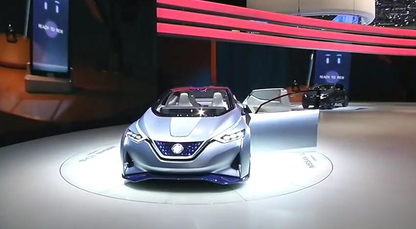 ROOLI VÕIM! Nissan paneb auto omaette kihutama