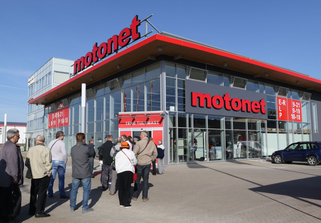 Motonet avas Tallinna poe