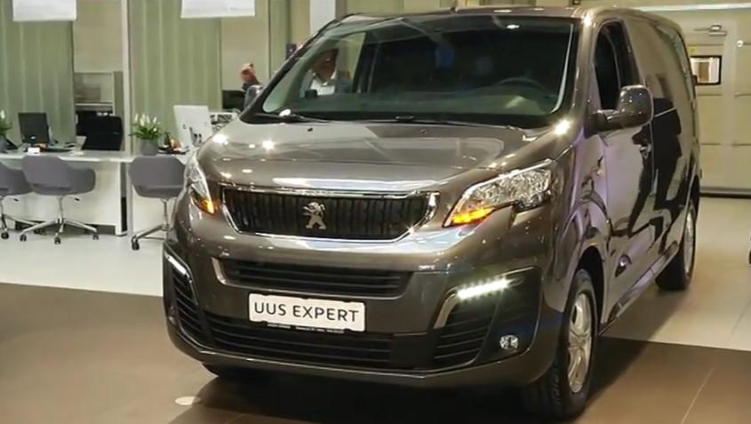 ROOLI VÕIM! Amserv tutvustab uut Peugeot Expert kaubikut ja Sõpruse salongi