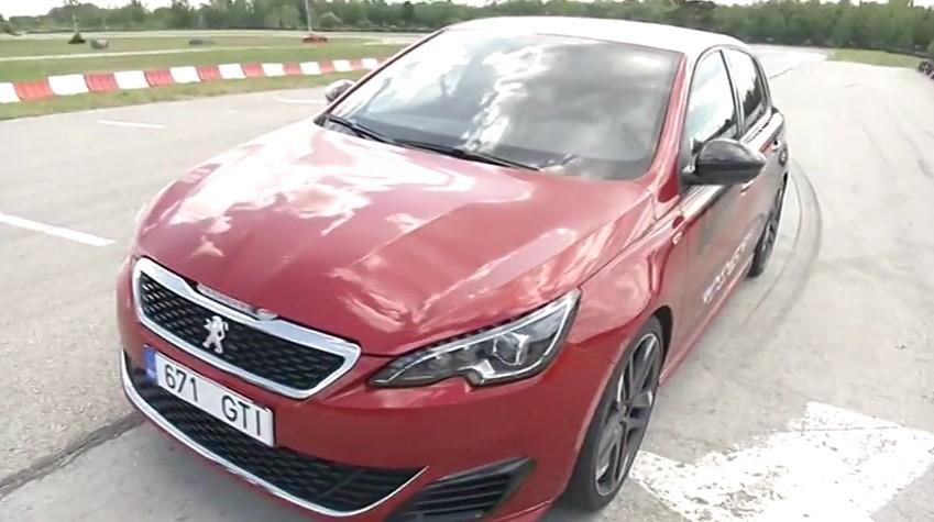 ROOLI VÕIM! Testsõitjad murravad Peugeot 308 GTi tehasemüüte