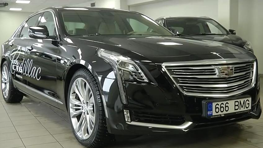 ROOLI VÕIM! Cadillac CT6 on esinduslik, eriline ja isikupärane