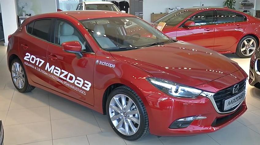 ROOLI VÕIM! Saatejuhid otsivad uue Mazda3 vigu ja häid külgi