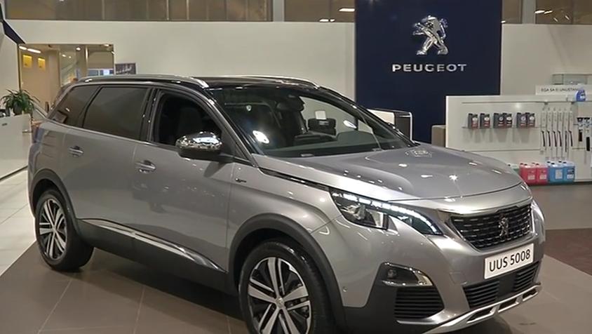 ROOLI VÕIM! Märtsis müüki tulevat uut Peugeot 5008 mudelit saab juba tellida
