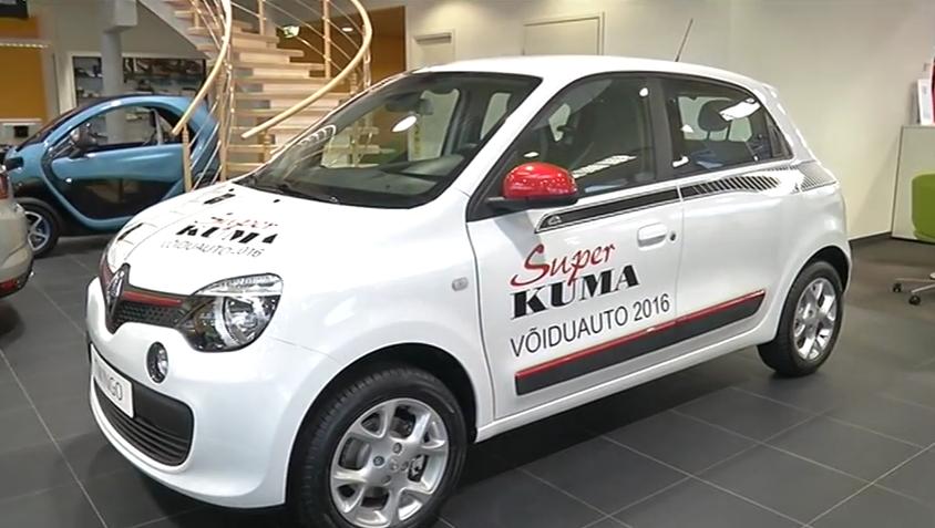 ROOLI VÕIM! Onu Uno loosis uue Renault Twingo omanikuks ristsõnalahendaja Irene Ruusmaa