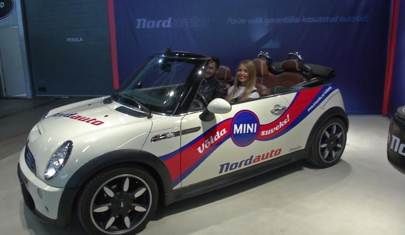ROOLI VÕIM! Mini kabrioletiga saab kolm kuud sõita Aivo Käär