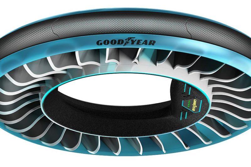 Goodyear tutvustab Genfi autonäitusel ideerehvi